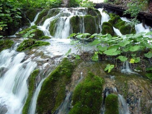 Водопады между Большим и Малым озёрами