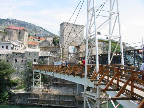 Процесс восстановления моста