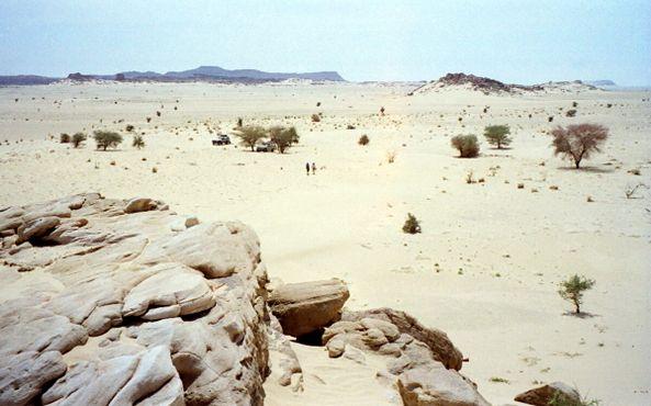 Пустыня Тенере недалеко от Агадеса