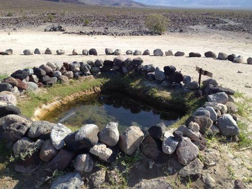 Один из бассейнов на горячих источниках