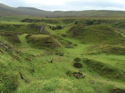 Долина фей, сказочный ландшафт вдали от избитых туристических троп