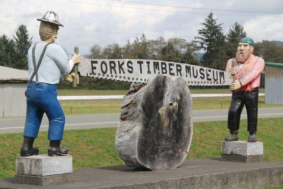 Музей древесины в Форксе
