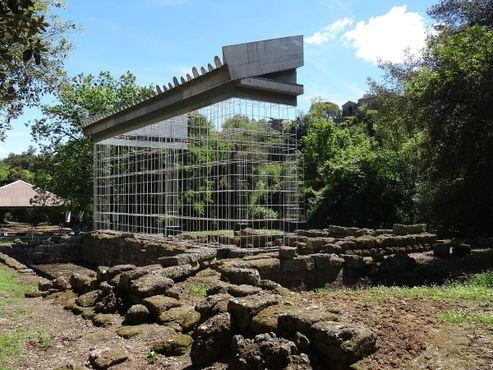 Вейи, руины храма