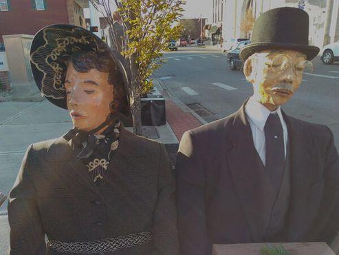 Викторианская пара