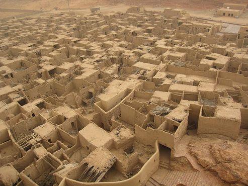Старый город Аль-Ула, Саудовская Аравия в 2011 году