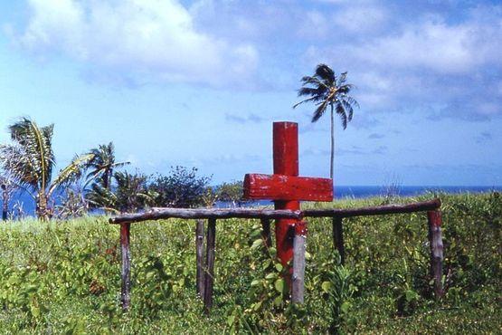 Церемониальный крест культа«Джона Фрума»