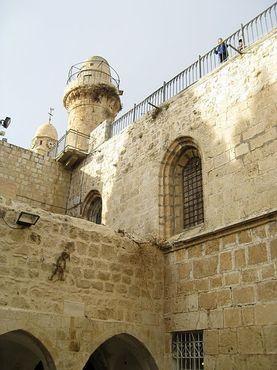 Терраса на крыше Сионской горницы