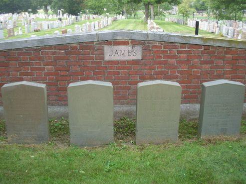 Семейное кладбище Джеймсов