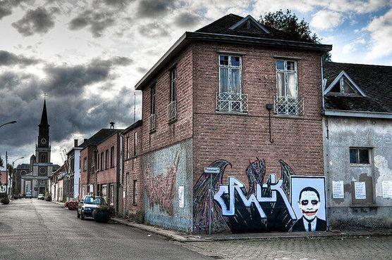 Уличное искусство Дула