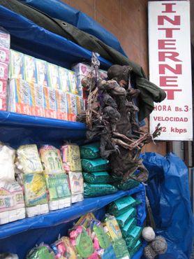 Боливийский Рынок ведьм