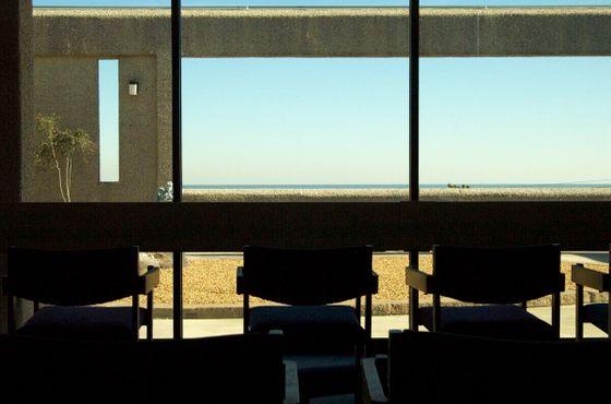 Вид из комнаты медитации на Атлантический океан