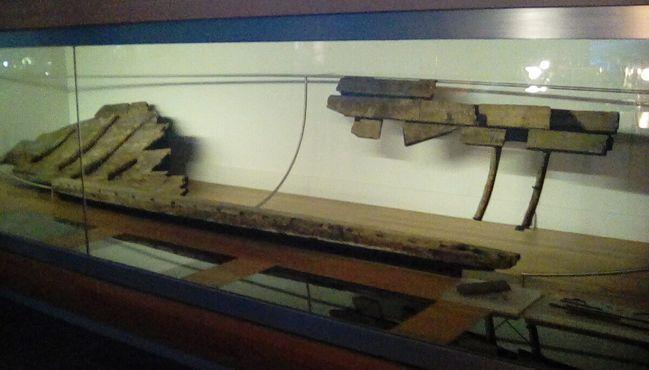 «Mazarrón 1» сейчас в Национальном музее подводной археологии