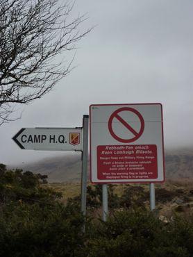 Лагерь Килбрайд и военная охраняемся зона рядом с Зеефином
