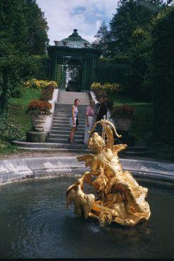 Фонтан в парке Линдерхофа