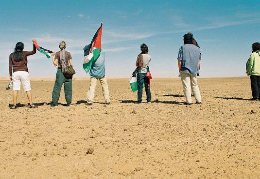 Лицом к Стене, Западная Сахара
