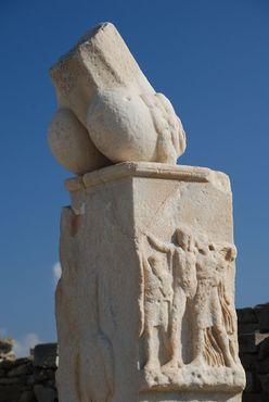Храм Диониса, Делос