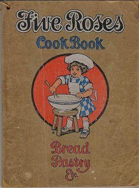 Старинная кулинарная книга «Файв Роузес»