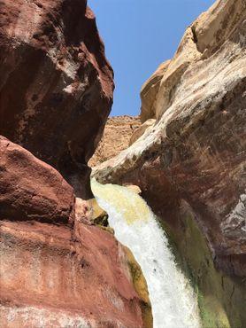 Водопад в каньоне Зарка-Маин