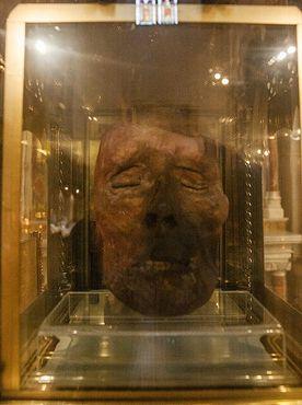 Отрубленная голова святого Оливера