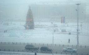 Жестокая погода в Якутске