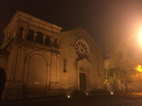 Базилика в жутком тумане