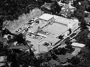 Станция ВВС США Лукаут-Маунтин, вид с воздуха