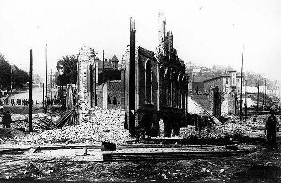 Последствия Большого пожара 1889 года